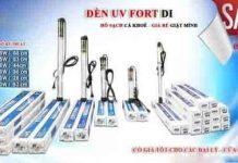 Đèn UV Fort DI diệt tảo